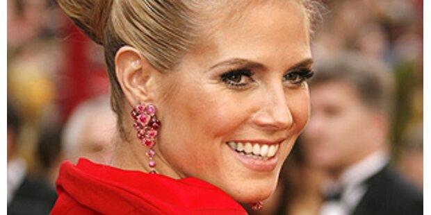 Heidi ist die Schönste-Tilda trug die Flop Robe