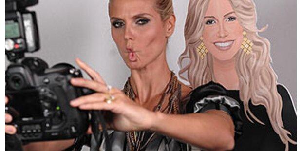 Heidi Klum ist zur Stardoll geworden
