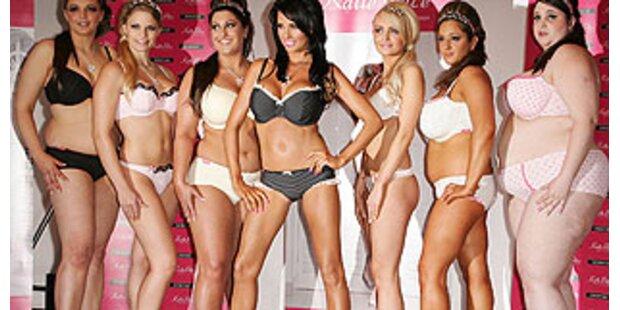 Katie Price zeigt Lingerie  für füllige Frauen