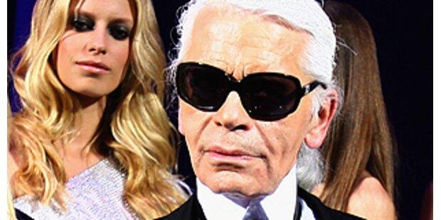 Karl Lagerfeld lüftet Geheimnisse