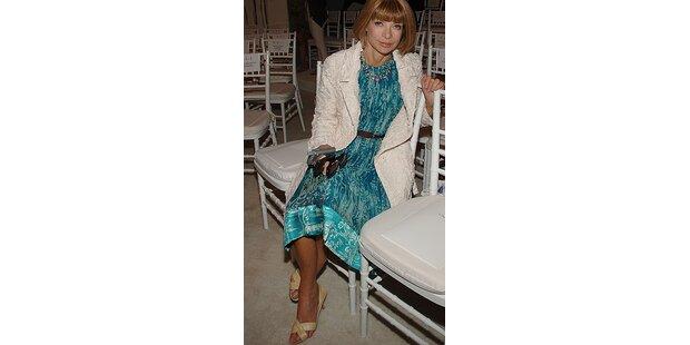 Die Vogue-Chefin hat ihre Zehen nicht im Griff