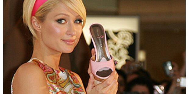 Paris Hilton präsentierte ihre Schuhkollektion