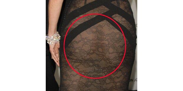 Sharon Stone kam quasi nackt zur Oscar-Party