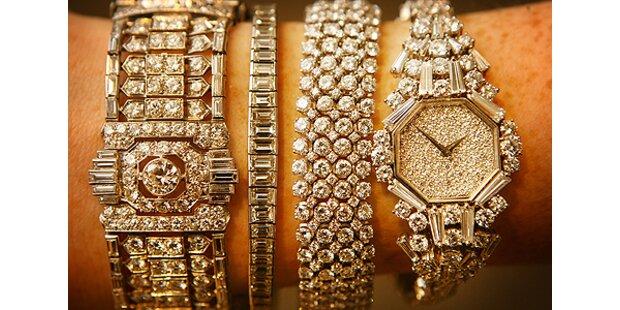 Luxusgüter laufen auch in der Krise