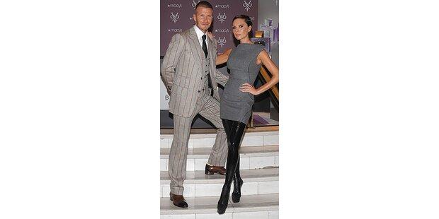 Vic Beckham-Suchbild: Was fehlt an diesem Schuh?