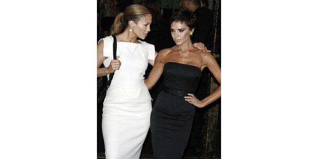Jen Lopez lässt Vic Beckham alt aussehen