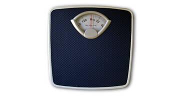 Gewicht an Festtagen regelmäßig kontrollieren