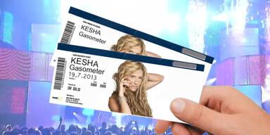 Gewinnen Sie Tickets für Kesha!
