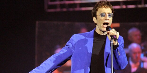 Bee Gees Sänger Robin Gibb im Koma