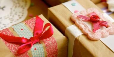 Geschenkverpackungen selbst gemacht