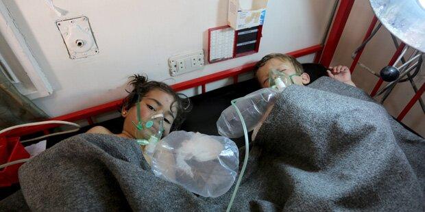 Assad-Regime für Giftgasangriff in Syrien verantwortlich