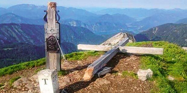Gipfelkreuz-Schänder hat wieder zugeschlagen