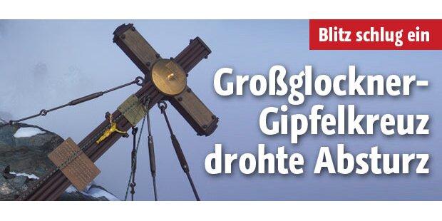 Großglockner-Kreuz drohte abzustürzen