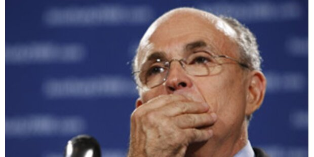 Rudolph Giuliani gibt US-Kandidatur auf