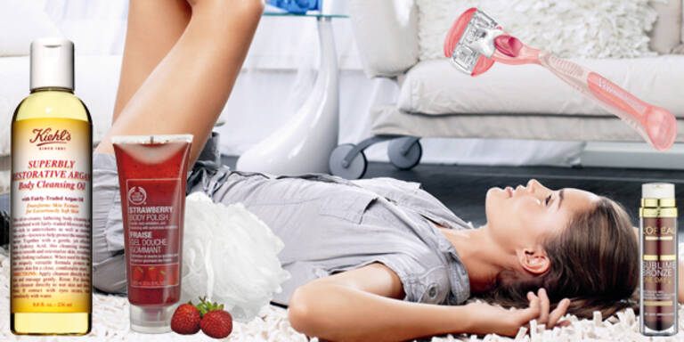 Glattte und seidig weiche Beine - Produkte