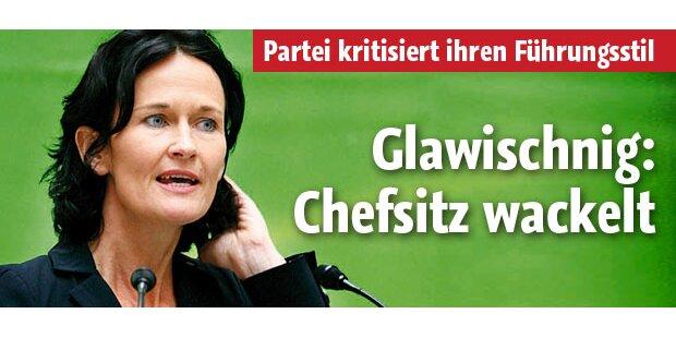 Glawischnigs Grünen-Chefsitz wackelt