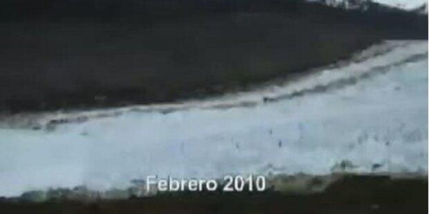 Chiles Gletscher schmelzen weg