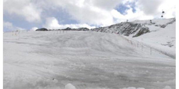 Abschmelzen von Tiroler Gletscher ist via Handy hörbar