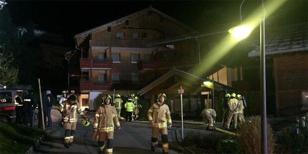 Putzfetzen lösten Glimmbrand in Hotel aus