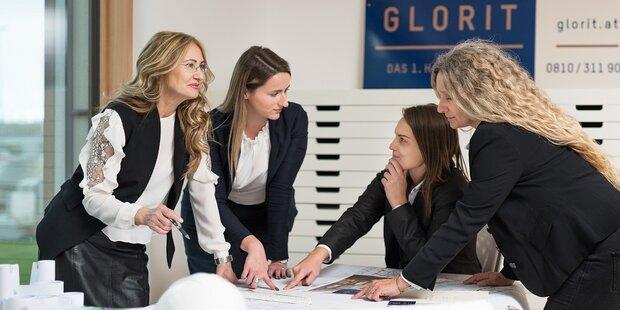 Bauträger Glorit setzt auf Frauenpower