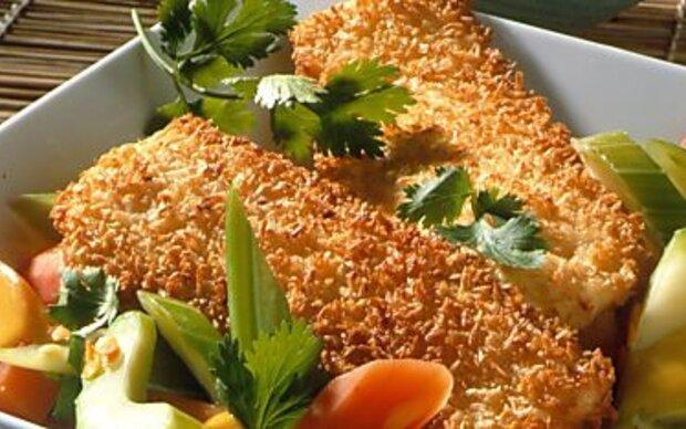 Glutenfreie Panade mit Maismehl