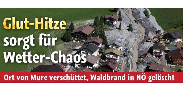 Waldbrand am Schneeberg gelöscht