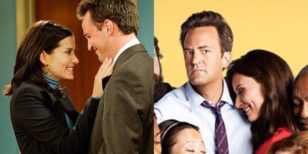 Friends-Stars Monica & Chandler frisch verliebt