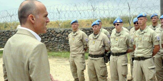 Ex-UN-Kommandant warnt vor Golan-Abzug
