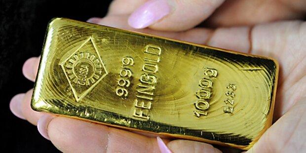Die Polizei sucht nach dem Goldbesitzer