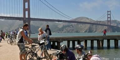 Golden-Gate-Bridge lässt sich mit Rad überqueren