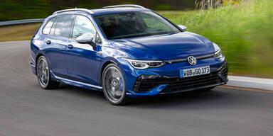 VW greift mit dem neuen Golf R Variant an