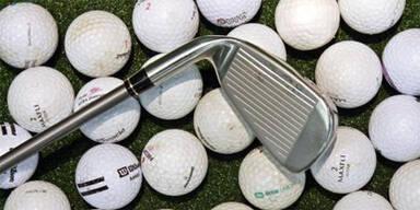 Golfschläger-Attacke