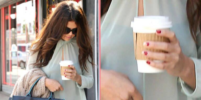 Selena Gomez ungepflegt unterwegs