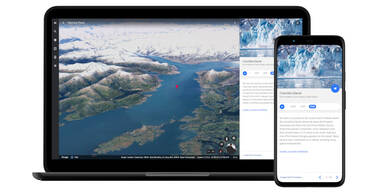 Timelapse in Google Earth zeigt Veränderung der Erde