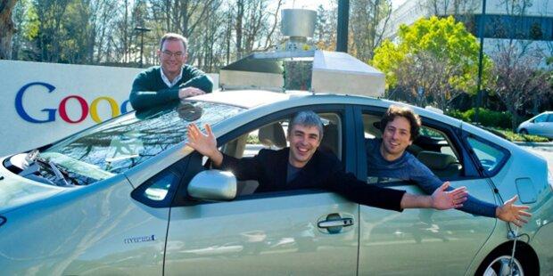Google will jetzt auch Autos bauen