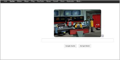 Google-Doodle für Raumschiff Enterprise