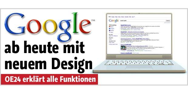 Neues Layout für die Google-Suchseite