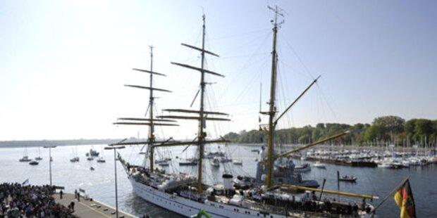 Skandalschiff Gorch Fock zurück in Kiel