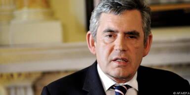 Gordon Brown warnt vor Selbstzufriedenheit