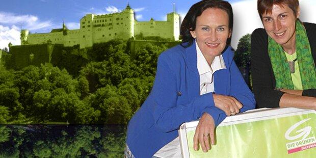 Grüne stärkste Kraft in der Stadt Salzburg