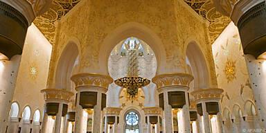Größte Gebetsstätte in den Arabischen Emiraten