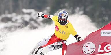 Grabner traf als Letzter im Olympischen Dorf ein