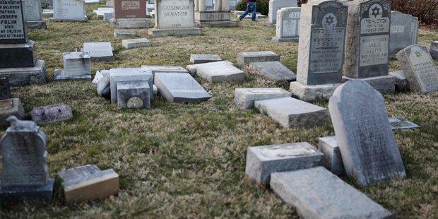 Philadelphia: Jüdischer Friedhof geschändet
