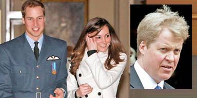 Diana-Bruder hält Hochzeits-Rede