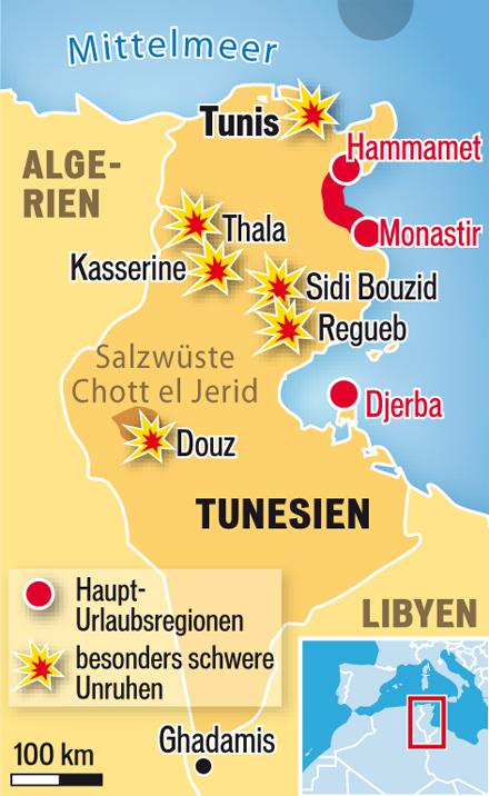 Grafik Tunesien