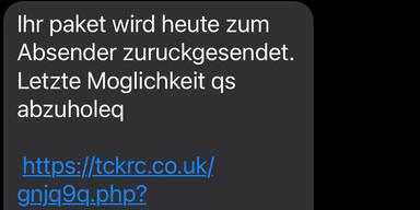 Polizei warnt vor Betrugs-SMS zur Paketverfolgung
