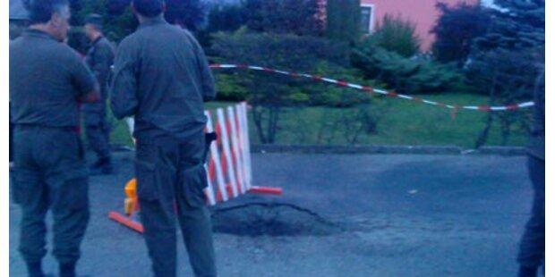 Bundesheer ließ Granate im Ort losgehen