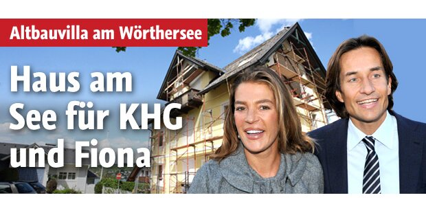 Haus am See für Karl-Heinz Grasser & Fiona