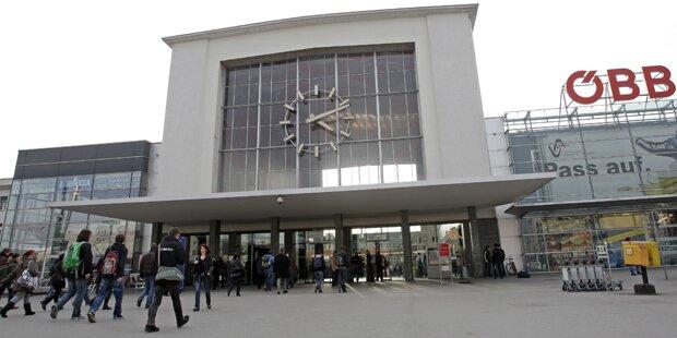Blutspur am Grazer Hauptbahnhof gibt Rätsel auf