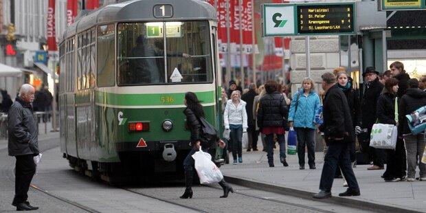 Herrenloser Koffer: Bombenalarm in Graz